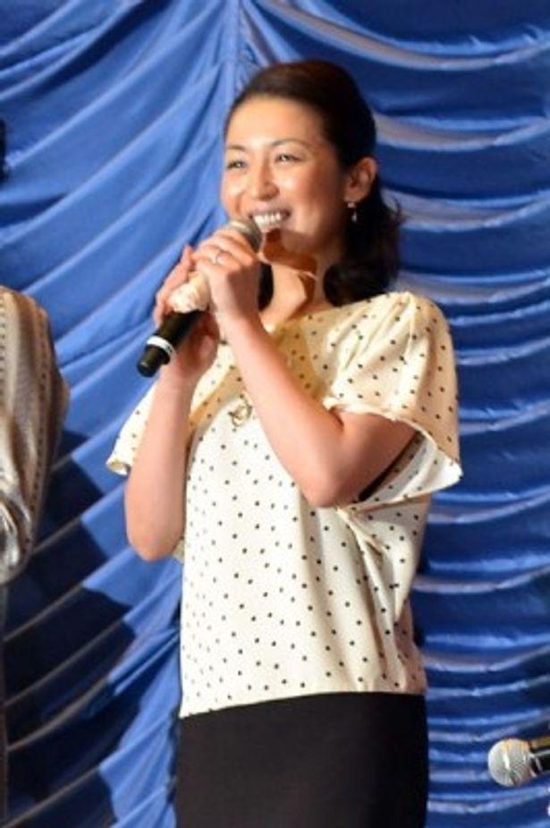 錬金術師・ガラ役でシリーズ初参加を果たした酒井美紀
