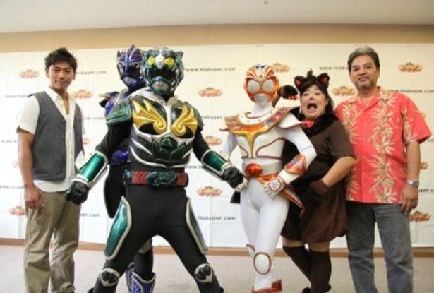 沖縄のヒーロー「琉神マブヤー3(ターチ)」、ついに始動!