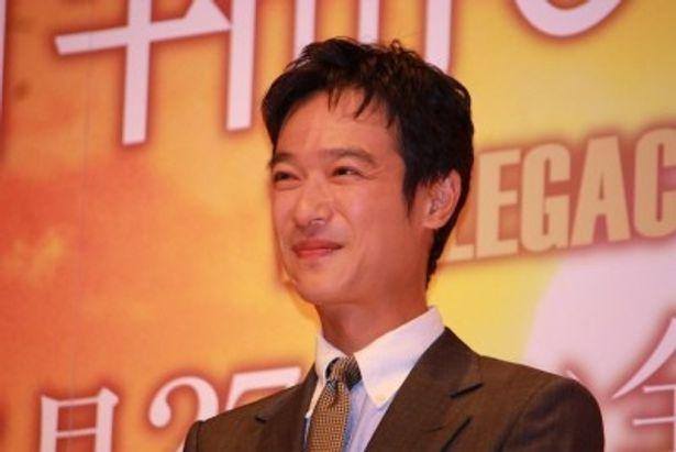 主人公の真柴司郎少佐役を演じた堺雅人