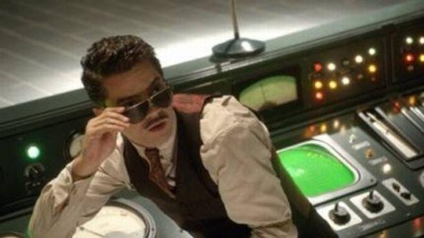 アイアンマンの父ハワード・スタークを演じたドミニク・クーパー