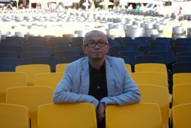 第64回ロカルノ国際映画祭で金豹賞審査員特別賞を受賞した青山真治監督