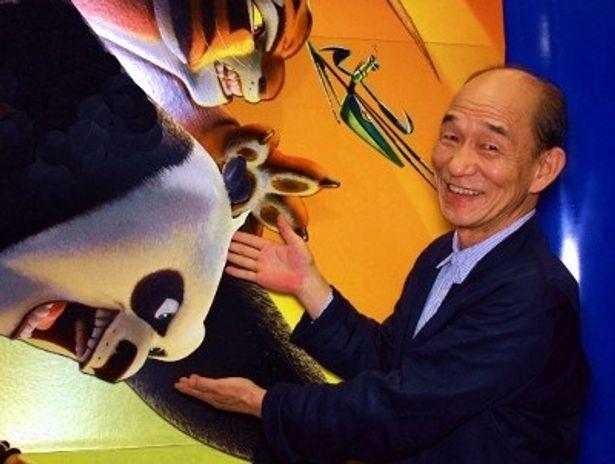 『カンフー・パンダ2』で、前作に続き、ポーの師匠・シーフー老師役の声を当てた笹野高史