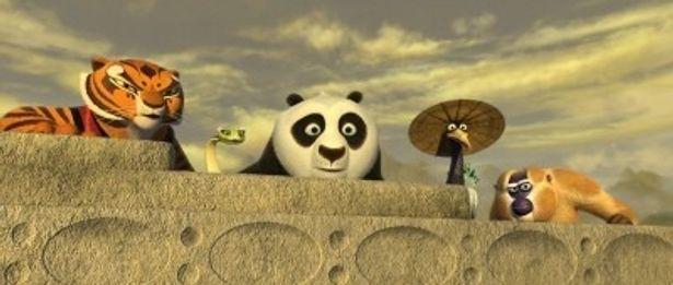 今夏、家族で見たいアニメ1位に輝いた『カンフー・パンダ2』