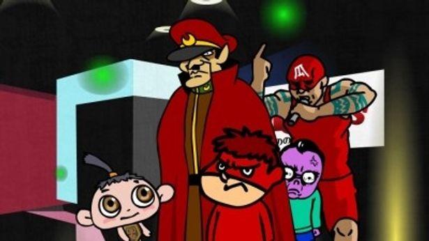 人気Flashアニメ「秘密結社 鷹の爪」と『friends もののけ島のナキ』のキャラクターたちがマナーを呼びかけ