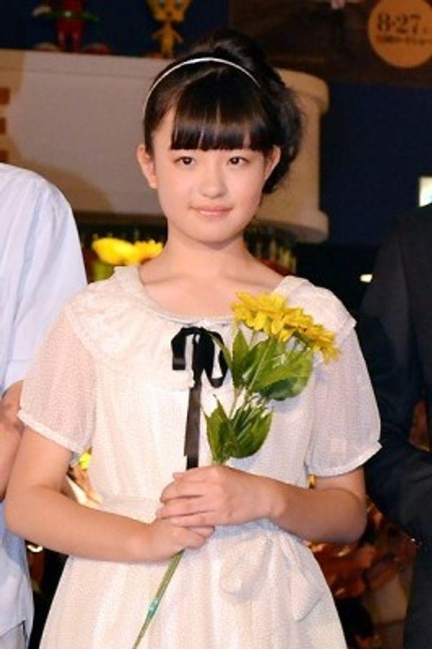 物語の語り部でもある女学生・久枝を演じた森迫永依に、作品に対する思いを語ってもらった