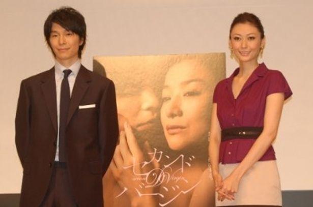 トークショースペシャルイベントに登場した、長谷川と田丸