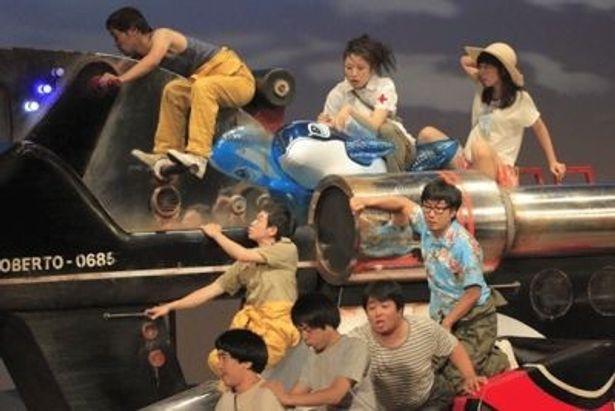 新作「ロベルトの操縦」の8月21日京都プレビュー公演から