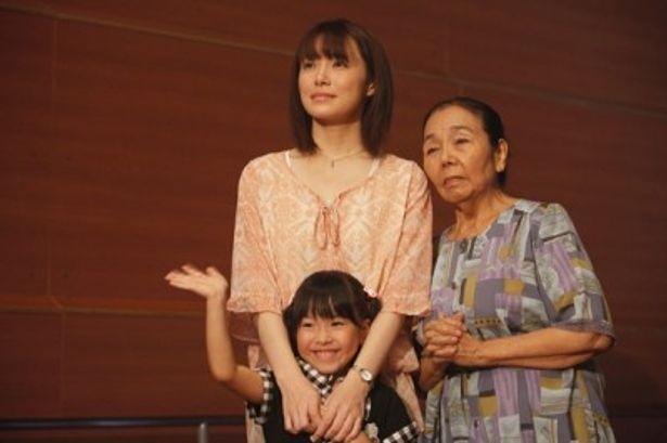 陽を支える妻・美智子をミムラが好演