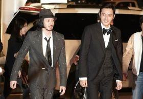 第16回釜山国際映画祭レッドカーペットにオダギリジョー&チャン・ドンゴンが登場!