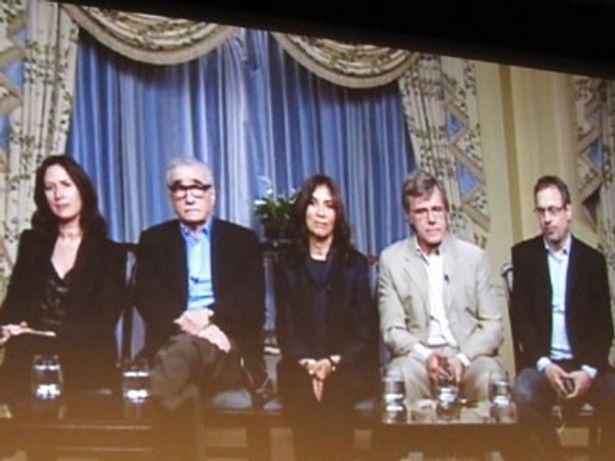 『ジョージ・ハリスン リヴィング・イン・ザ・マテリアル・ワールド』のスコセッシ監督、オリヴィア夫人らがスカイプ・インタビューに応じた