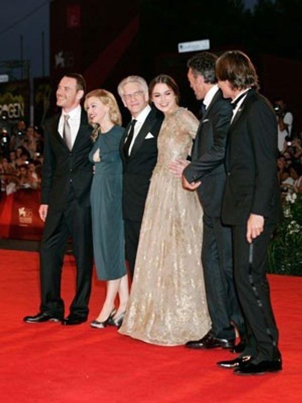 監督と3作目のタッグとなるヴィゴと共に、キーラ、ファスベンダーにもアカデミー賞への期待がかかる