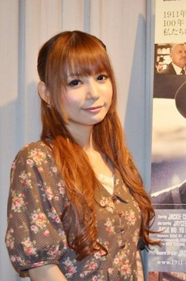 ジャッキー・チェンの大ファンの中川翔子が映画の見どころをたっぷり語ってくれた