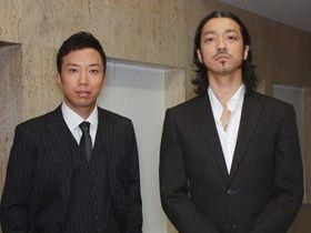 金子ノブアキ&市川亀治郎『シャッフル』の現場は「寒くて、眠くて、楽しかった」