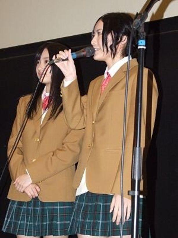 【写真を見る】映画初出演を果たしたSKE48の松井珠理奈と矢神久美