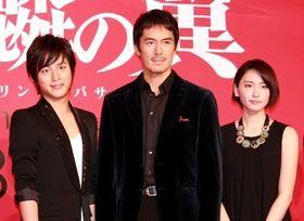 阿部寛『麒麟の翼』で6年ぶりの共演の新垣結衣に「お芝居が上手くなった」