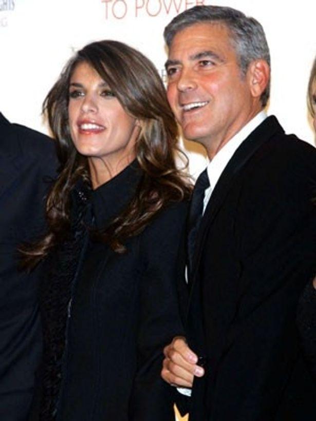 最高にセクシーな年の差カップルと騒がれたジョージ・クルーニーとエリザベッタ・カナリス
