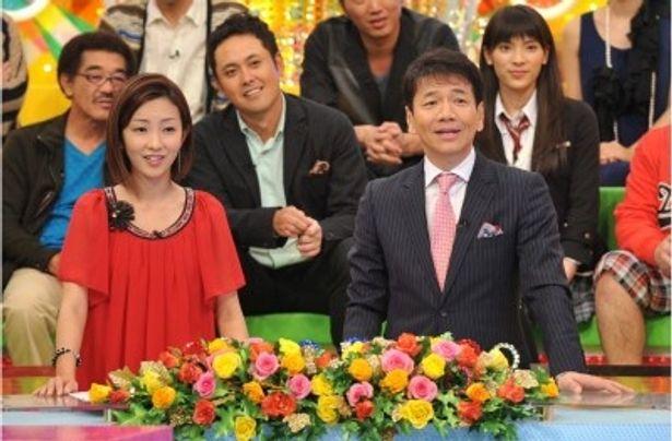 司会はくりぃむしちゅーの上田晋也と大木優紀アナウンサー(写真右から)