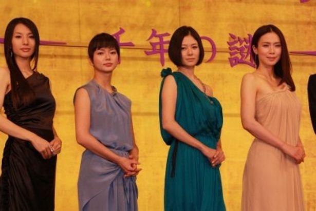 『源氏物語 千年の謎』のプレミアイベントで中谷美紀ら豪華キャストが登壇