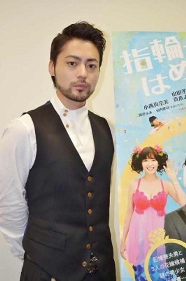 様々なジャンルの作品で大活躍する山田孝之が本作に込めた熱い思いを語ってくれた