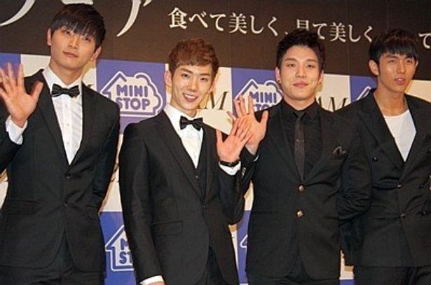 2012年に日本デビューを控えている2AM