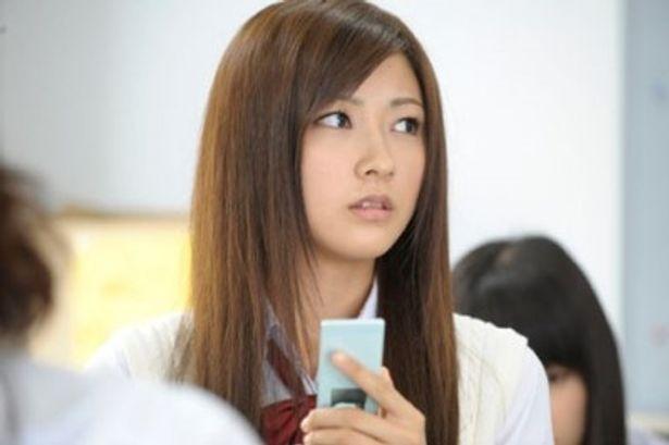 ヒロインを演じた熊井友理奈。その身長もちろん、ハロー!プロジェクト一番の注目株!?