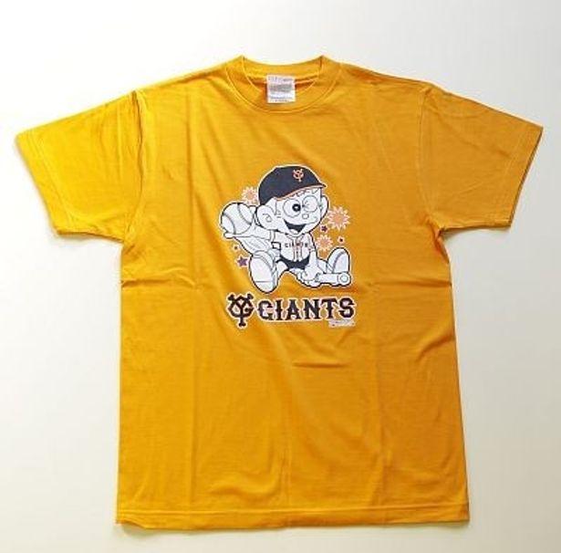 ダイブの「怪物くん×プロ野球12球団 コラボTシャツ」(各3150円、S/M/L)