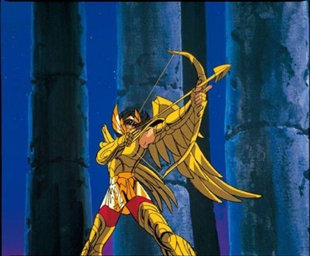 星矢がサジタリアスの聖衣の弓矢を初めて使用した『聖闘士星矢 邪神エリス』
