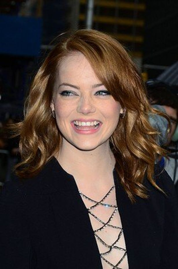 ハリウッド期待の若手女優エマ・ストーン
