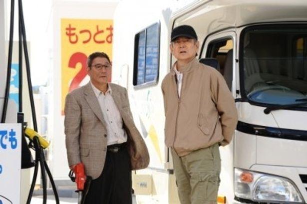 【写真】高倉と『夜叉』(85)以来の共演を果たしたビートたけし