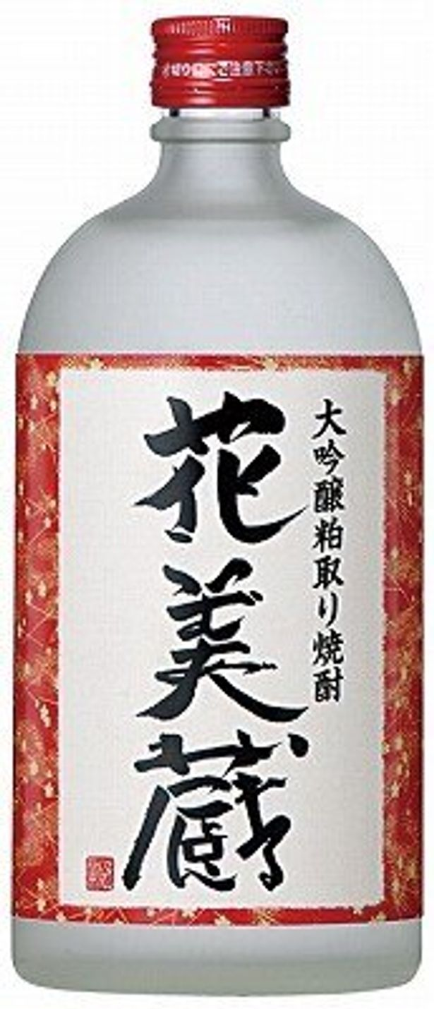 大吟醸粕取り焼酎は1260円(720ml)