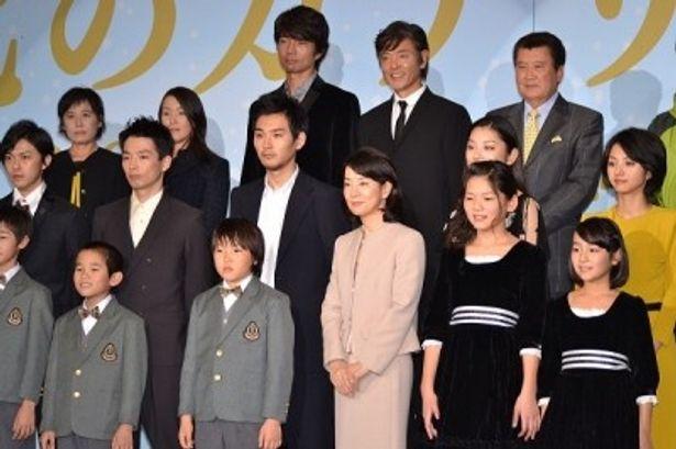 豪華キャストの多数共演で贈る東映創立60周年記念作。その製作発表会見が実施された
