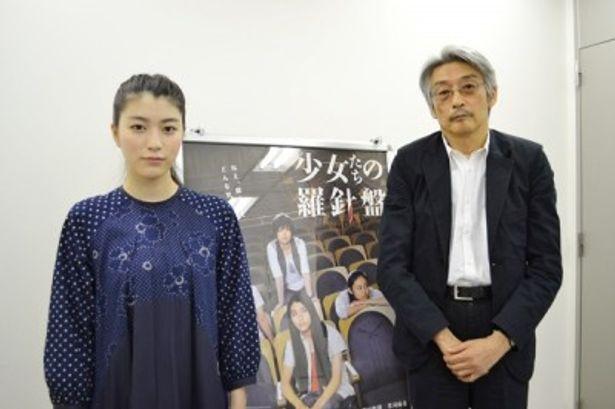 成海璃子と長崎俊一監督が作品に込めた様々な思いを語ってくれた