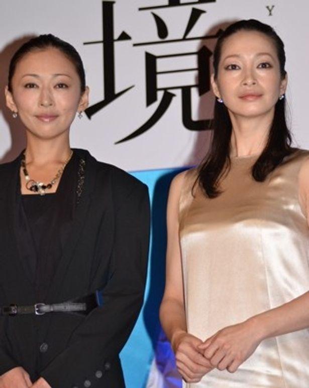 ドラマ「境遇」でW主演する松雪泰子さん&りょうさん