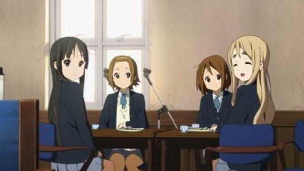 女性層にも人気のアニメ「けいおん!」が待望の映画化