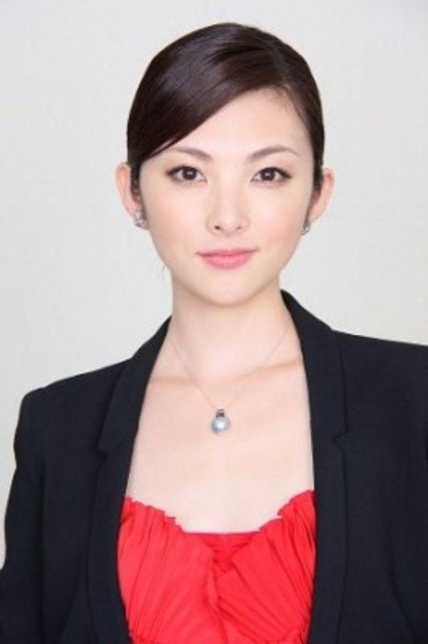 『源氏物語 千年の謎』で、光源氏の年上の愛人・六条御息所役に扮した田中麗奈