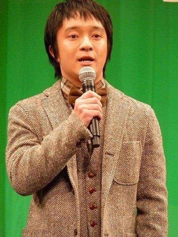 「ふしぶしが痛む中お越しいただきありがとうございます」と濱田岳