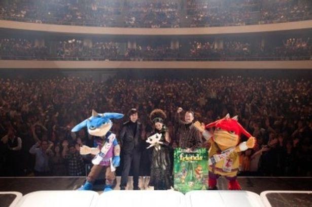MISIAの仙台公演に登場した山崎貴監督と八木竜一監督、そしてもののけたち