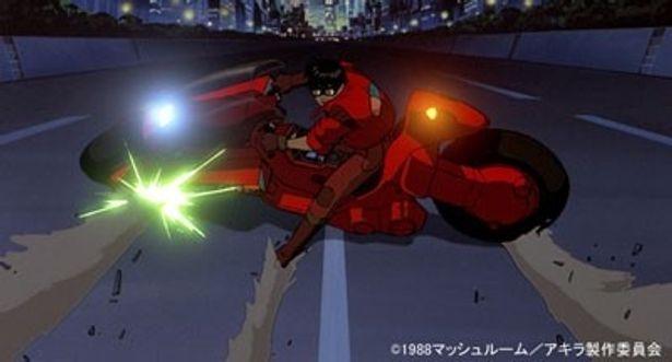 【写真】『AKIRA』といえば、ピーキーすぎる金田のバイクに憧れたファンも多いのでは?