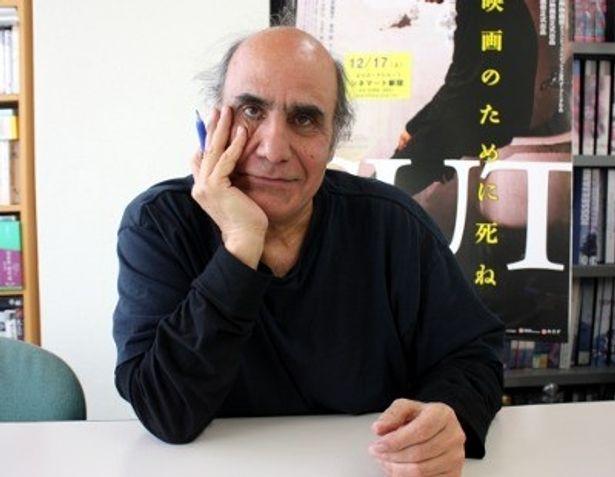 西島秀俊主演映画『CUT』を監督したアミール・ナデリ監督