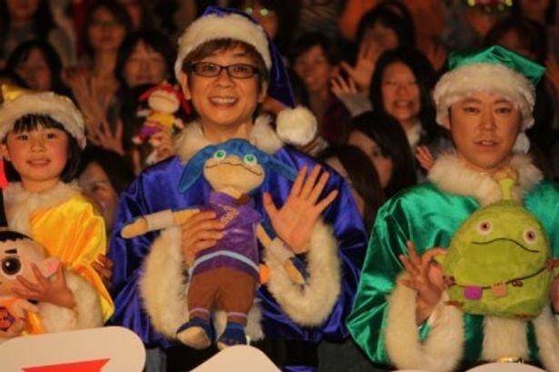 香取慎吾主演の3D映画『friends もののけ島のナキ』の初日舞台挨拶が開催