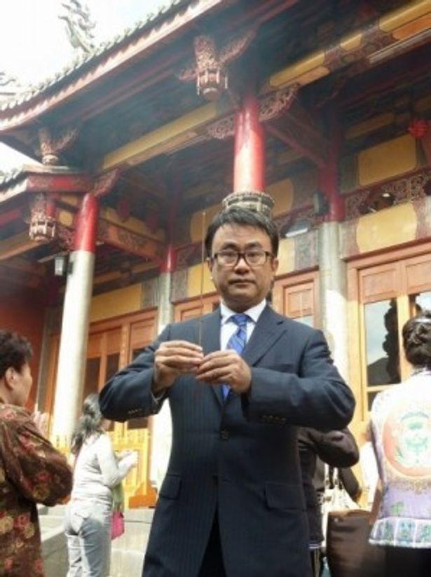 『ステキな金縛り』台湾プレミアのため訪台した三谷幸喜監督