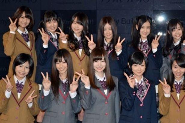 銀座ソニービルで実施中のクリスマスイベントに乃木坂46メンバーが集結