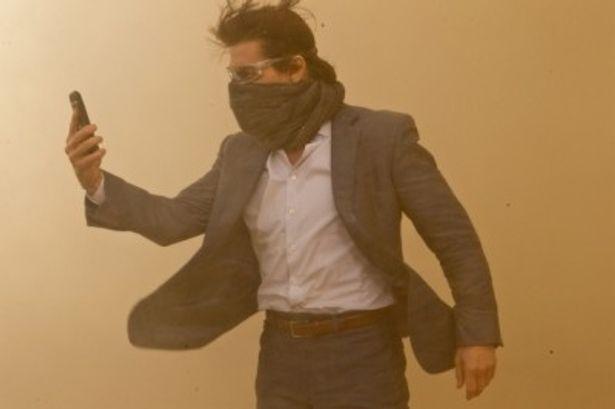 『ミッション:インポッシブル ゴースト・プロトコル』主演のトム・クルーズ