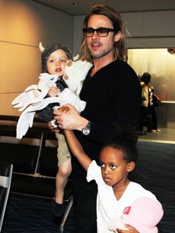 ブラッドはその後、アンジェリーナとの間に3人の子供をもうけた