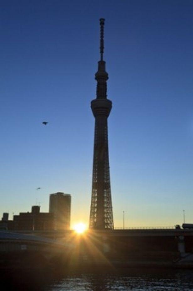 全高634mの東京スカイツリーで初日の出を楽しもう