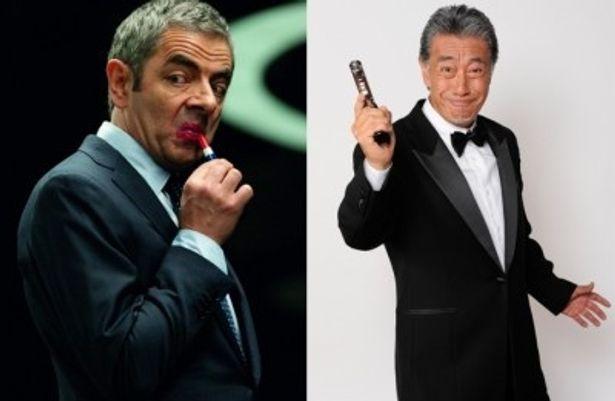 タキシードに身を包み、まるで和製Mr.ビーンな高田純次