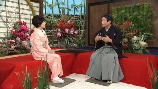 """竹下景子と柳家さん喬が""""小さん落語の魅力""""を語る"""
