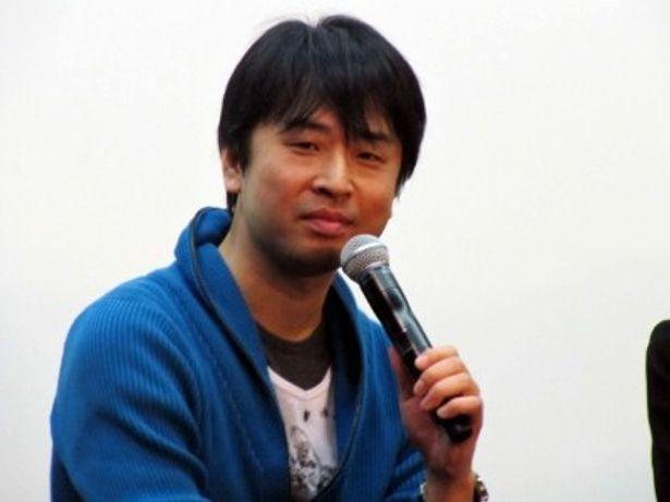 イベントに登場した誉田哲也。ドラマ化について語った