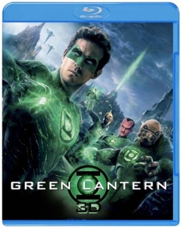 1月11日(水)に発売となる『グリーン・ランタン』の3D&2Dブルーレイセット
