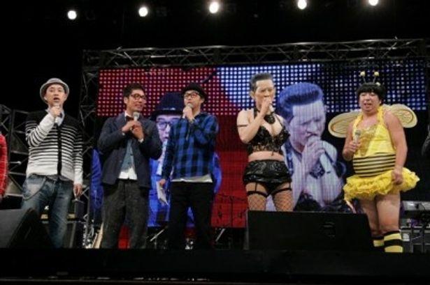 ライブイベント「マジ歌フェスティバル2012」の模様
